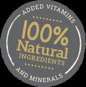 100natural-sticker