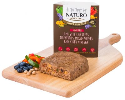 Chef's Selection Grain Free Lamb with Chickpeas, Mixed Peppers, Blueberries & Cider Vinegar 400g x 7