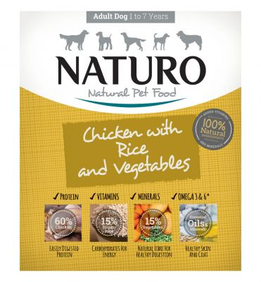 Adult Dog Chicken with Rice & Vegetables 400g x 7