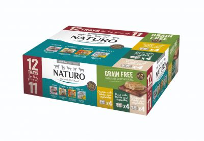 Adult Dog Grain Free Variety Pack Trays 400g x 12