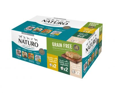 Adult Dog Grain Free Variety Pack Trays 400g x 6