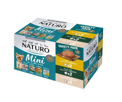 Adult Mini Dog with Rice Variety Pack 150g x 6