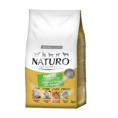 Adult Dog Grain Free Chicken with Potato & Vegetables 2kg